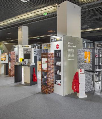 Fabrication et agencement de votre stand pour vos salons sur Montpellier, Paris, Rennes, Strasbourd et Lyon.